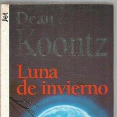 Libros de segunda mano: DEAN KOONTZ. LUNA DE INVIERNO. PLAZA & JANES. Lote 171525570