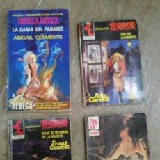 Libros de segunda mano: LOTE DE NOVELAS DE TERROR Y MISTERIO. Lote 171745183