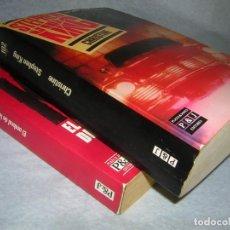 Libros de segunda mano: STEPHEN KING. EL UMBRAL DE LA NOCHE Y CHRISTINE P Y J . Lote 172024153