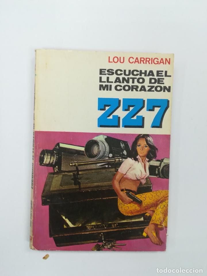 ESCUCHA EL LLANTO DE MI CORAZON (LOU CARRIGAN) (ZZ7 #162) (Libros de segunda mano (posteriores a 1936) - Literatura - Narrativa - Terror, Misterio y Policíaco)
