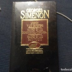 Libri di seconda mano: GRANDES MAESTROS DEL CRIMEN Y MISTERIO. GEORGES SIMENON ORBIS 1984 TOMO XII 12. Lote 172309635