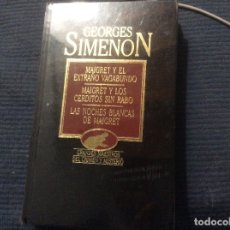 Libri di seconda mano: GRANDES MAESTROS DEL CRIMEN Y MISTERIO. GEORGES SIMENON ORBIS 1984 TOMO XI 11. Lote 172309745