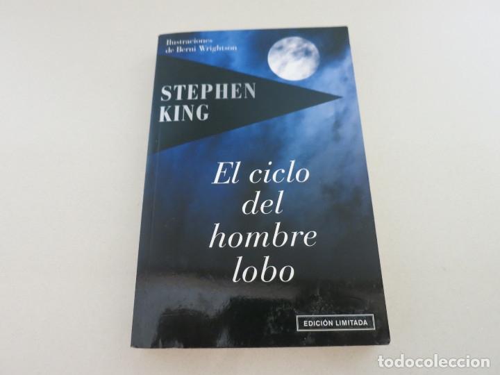 EL CICLO DEL HOMBRE LOBO STEPHEN KING EDICIÓN LIMITADA TERROR (Libros de segunda mano (posteriores a 1936) - Literatura - Narrativa - Terror, Misterio y Policíaco)