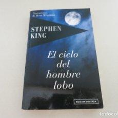Libros de segunda mano: EL CICLO DEL HOMBRE LOBO STEPHEN KING EDICIÓN LIMITADA TERROR . Lote 172928158