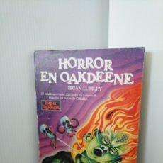 Libros de segunda mano: HORROR EN OAKDEENE - BRIAN LUMLEY - SUPER TERROR MARTÍNEZ ROCA. Lote 211439416
