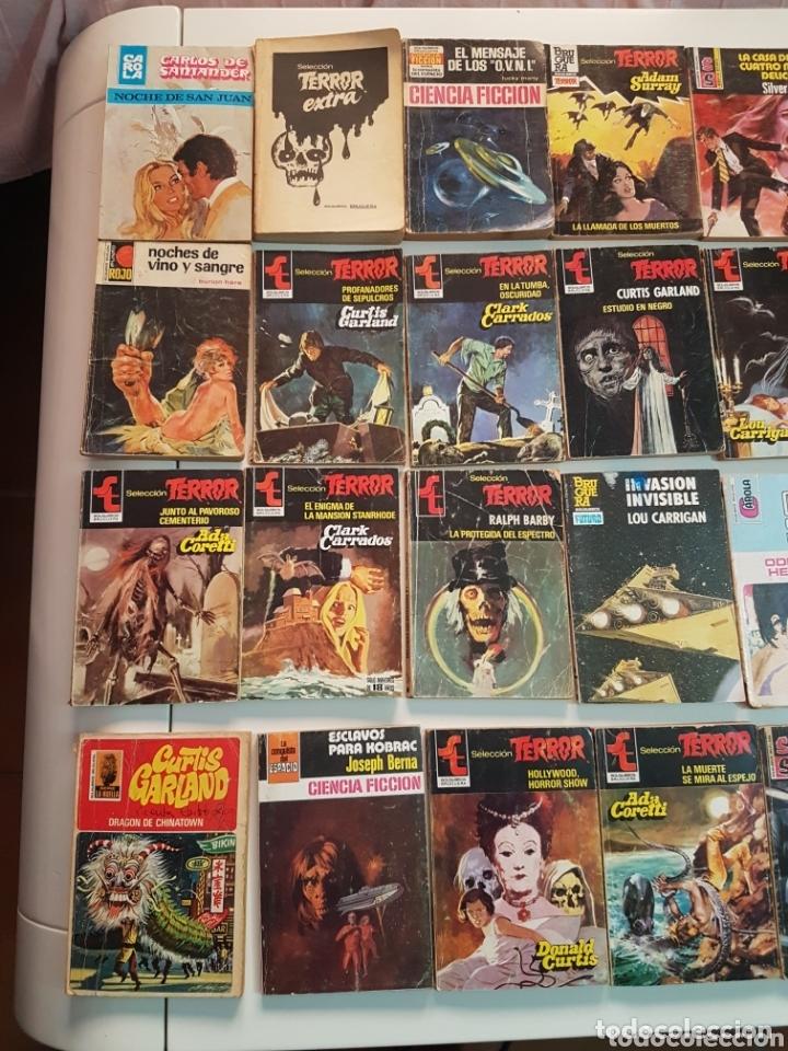 Libros de segunda mano: LOTE de 76 Bolsilibros - SELECCION TERROR EDITORIAL BRUGUERA - Clark Carrados Curtis Garland, Surray - Foto 5 - 173645327
