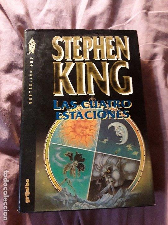 LAS CUATRO ESTACIONES, DE STEPHEN KING. TAPA DURA. 1.ª ED (1993). CON DEFECTO. (Libros de segunda mano (posteriores a 1936) - Literatura - Narrativa - Terror, Misterio y Policíaco)