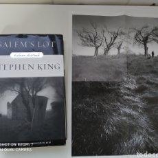 Libros de segunda mano: STEPHEN KING SALEM'S LOT EDICIÓN ILUSTRADA INCLUYE EL PÓSTER. Lote 174526488