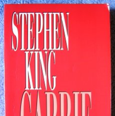 Libros de segunda mano: CARRIE - STEPHEN KING - DE 1995.. Lote 175320217