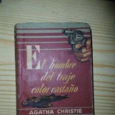 Libros de segunda mano: AGATHA CHRISTIE-EL HOMBRE DEL TRAJE COLOR CASTAÑO. Lote 175702830