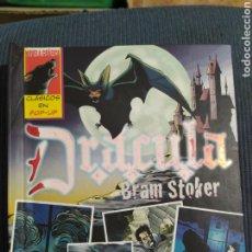 Libros de segunda mano: DRACULA BRAIM STOKER. DESPLEGABLES. CLASICOS POP-UP. Lote 205395415