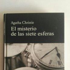 Libros de segunda mano: EL MISTERIO DE LAS SIETE ESFERAS AGATHA CHRISTIE TAPA DURA. Lote 175946200