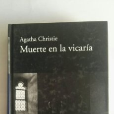 Libros de segunda mano: MUERTE EN LA VICARÍA AGATHA CHRISTIE TAPA DURA. Lote 175946305