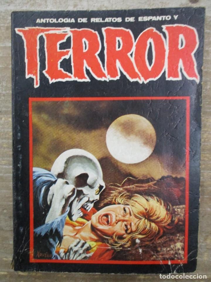 ANTOLOGÍA DE RELATOS DE ESPANTO Y TERROR Nº 11. ED. DRONTE (Libros de segunda mano (posteriores a 1936) - Literatura - Narrativa - Terror, Misterio y Policíaco)