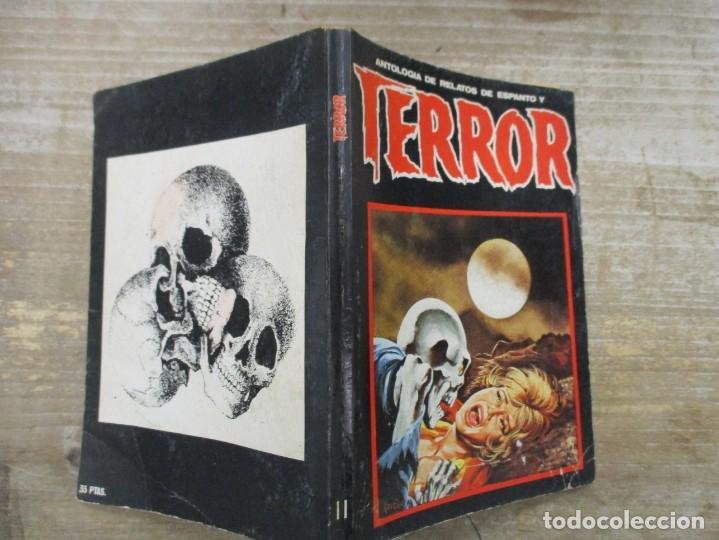 Libros de segunda mano: ANTOLOGÍA DE RELATOS DE ESPANTO Y TERROR Nº 11. ED. DRONTE - Foto 2 - 176100405
