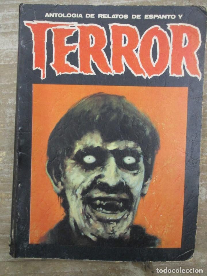 ANTOLOGÍA DE RELATOS DE ESPANTO Y TERROR Nº 4 . ED. DRONTE (Libros de segunda mano (posteriores a 1936) - Literatura - Narrativa - Terror, Misterio y Policíaco)