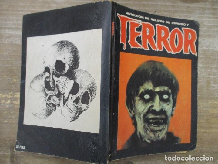 Libros de segunda mano: ANTOLOGÍA DE RELATOS DE ESPANTO Y TERROR Nº 4 . ED. DRONTE - Foto 2 - 176100700