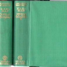 Libros de segunda mano: KARL MAY : NOVELAS ESCOGIDAS - DOS TOMOS (AGUILAR LINCE INQUIETO, 1958). Lote 176173192
