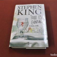 Libros de segunda mano: TODO ES EVENTUAL , 14 RELATOS OSCUROS - STEPHEN KING - 1ª EDICIÓN 2003 - NTB. Lote 176249064