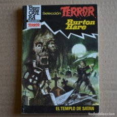 Livres d'occasion: EL TEMPLO DE SATAN. BURTON HARE. SELECCION TERROR, Nº 522. LITERACOMIC. Lote 176346745