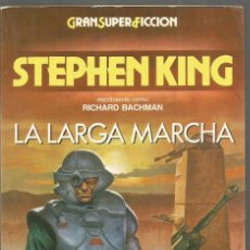 Libros de segunda mano: STEPHEN KING. LA LARGA MARCHA. MARTINEZ ROCA GRAN SUPER FICCION. GRANSUPERFICCION. Lote 295686248