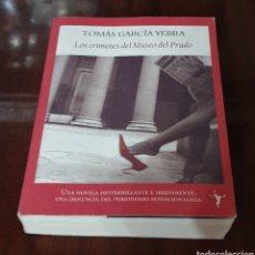 Libros de segunda mano: LIBRO LOS CRIMENES DEL MUSEO DEL PRADO. Lote 176452823