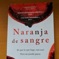 Libros de segunda mano: NARANJA DE SANGRE. HARRIET TYCE. Lote 176471312