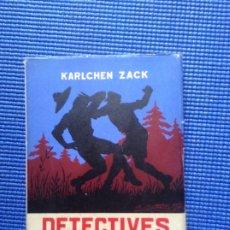 Libros de segunda mano: DETECTIVES IMPROVISADOS KARLCHEN ZACK. Lote 176934820