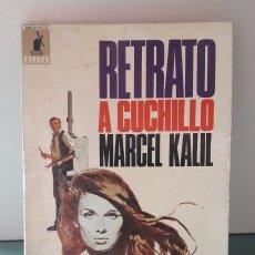 Libros de segunda mano: RETRATO A CUCHILLO. MARCEL KALIL. Lote 177431564