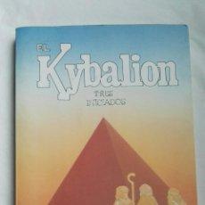 Libros de segunda mano: EL KYBALION TRES INICIADOS. Lote 179119451