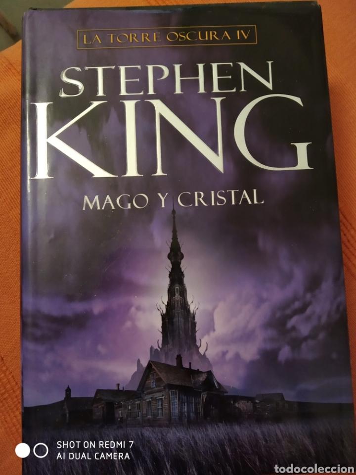 LIBRO STEPHEN KING MAGO Y CRISTAL LA TORRE OSCURA IV PLAZA JANES 1ª EDICIÓN 2008 (Libros de segunda mano (posteriores a 1936) - Literatura - Narrativa - Terror, Misterio y Policíaco)