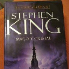 Libros de segunda mano: LIBRO STEPHEN KING MAGO Y CRISTAL LA TORRE OSCURA IV PLAZA JANES 1ª EDICIÓN 2008. Lote 179120822