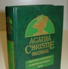 Libros de segunda mano: AGATHA CHRISTIE - OBRAS COMPLETAS / Nº 3 - EDICIONES ORBIS 1987. Lote 179142920