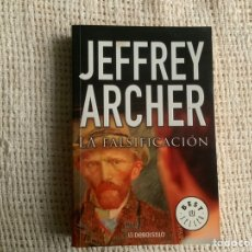 Libros de segunda mano: LA FALSIFICACIÓN / JEFFREY ARCHER - DEBOLSILLO. Lote 179197121