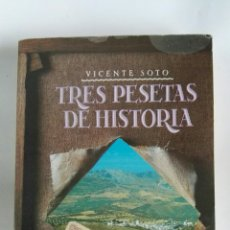 Libros de segunda mano: TRES PESETAS DE HISTORIA. Lote 179336148