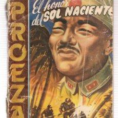 Libros de segunda mano: PROEZAS. Nº 13. EL HONOR DEL SOL NACIENTE. FRANK MCFAIR. ROLLAN.(ST/C27). Lote 179541707