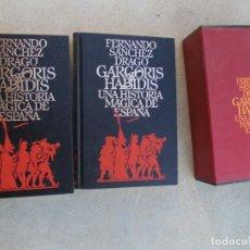 Libros de segunda mano: GARGORIS HABIDIS UNA HISTORIA MÁGICA DE ESPAÑA FERNANDO SÁNCHEZ DRAGÓ. Lote 179563708