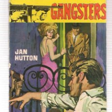 Libros de segunda mano: GANGSTERS. Nº 196. CARNE LLAGADA JAN HUTTON. ROLLAN.(ST/C27). Lote 179951627