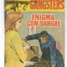 Libros de segunda mano: GANGSTERS. Nº 59. ENIGMA CON SANGRE. JAN HUTTON. ROLLAN.(ST/C27). Lote 179952050
