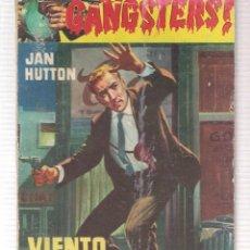 Libros de segunda mano: GANGSTERS. Nº 32. VIENTO DE TERROR. JAN HUTTON. ROLLAN.(ST/C27). Lote 179952292