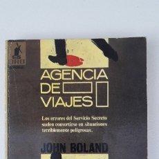 Libros de segunda mano: AGENCIA DE VIAJES. (JOHN BOLAND). Lote 180146230