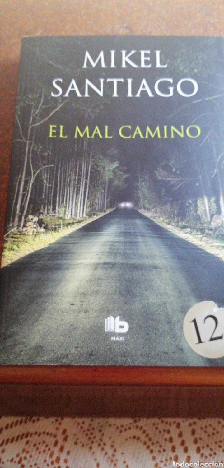 EL MAL CAMINO DE MIQUEL SANTIAGO (Libros de segunda mano (posteriores a 1936) - Literatura - Narrativa - Terror, Misterio y Policíaco)