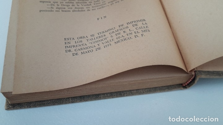 Libros de segunda mano: ROJA LUNA DE MIEL. JACK IAMS. Ed. CUMBRE, MÉXICO, 1953 - Foto 4 - 180192922