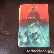 Libros de segunda mano: ANGELES Y DEMONIOS. Lote 180273970