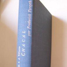 Libros de segunda mano: CHACAL, DE FREDERICK FORSYTH. PLAZA & JANÉS. Lote 180903960