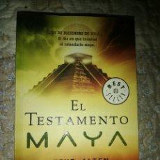 Libros de segunda mano: EL TESTAMENTO MAYA (STEVE ALTEN) - VÍAMAGNA - DEBOLSILLO. Lote 180947575