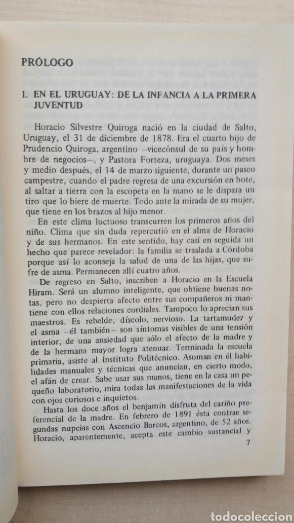Libros de segunda mano: Anaconda. Horacio Quiroga. Losada, 1990. - Foto 7 - 180999680