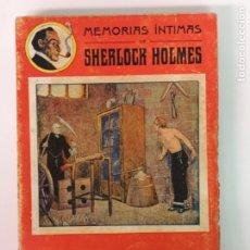 Libros de segunda mano: MEMORIAS ÍNTIMAS DE SHERLOCK HOLMES. Lote 181117511