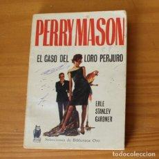 Libros de segunda mano: SELECCIONES BIBLIOTECA ORO 171 PERRY MASON EL CASO DEL LORO PERJURO, ERLE STANLEY GARDNER. MOLINO 19. Lote 181496908