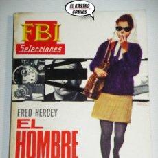 Livres d'occasion: FBI SELECCIONES POLICIACAS Nº 430, EL HOMBRE LOBO, ED ROLLAN, BOLSILIBRO, DETECTIVES, B9. Lote 181606487